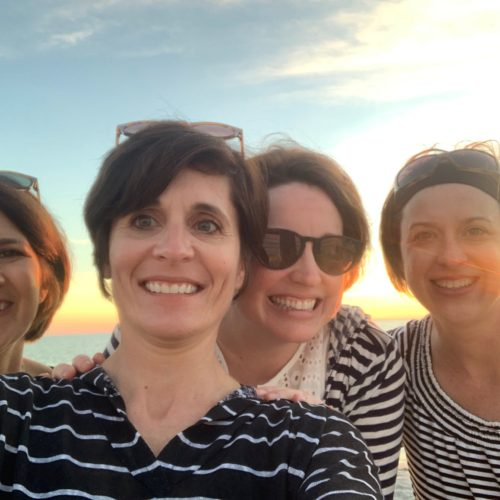 Girlfriends trips are good for your soul - four best friends.