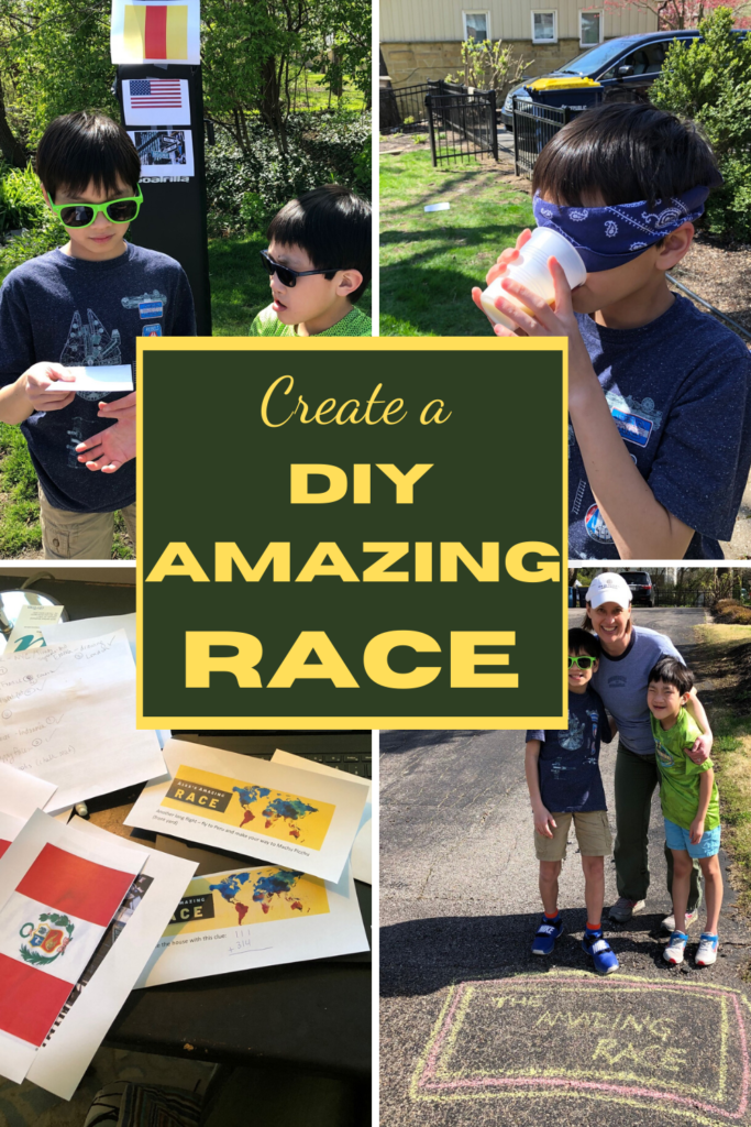 Journey Around The World While Still At Home With A Diy Amazing Race