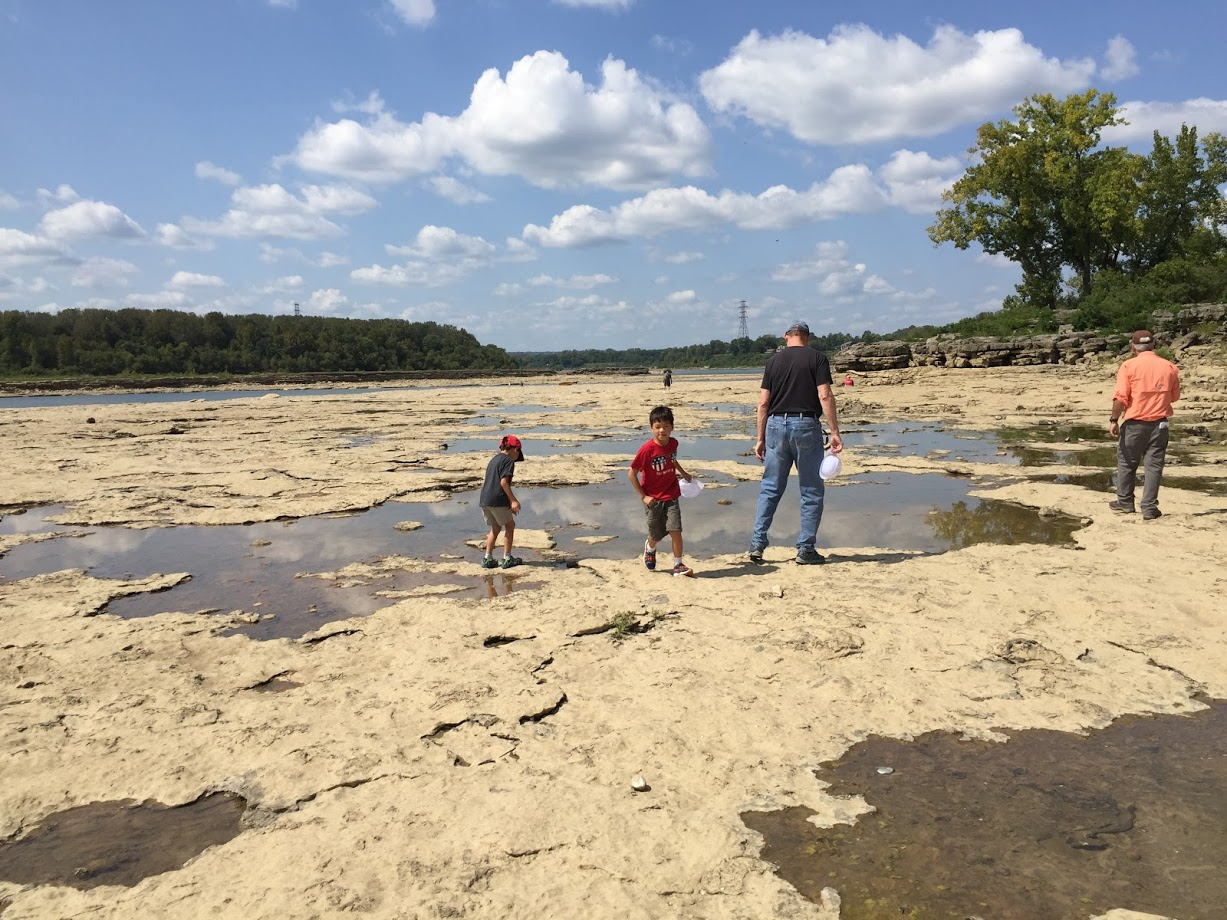 Safe distancing at four Indiana State Parks with kids